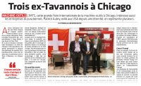 Journal du Jura - Salon international IMTS Chicago