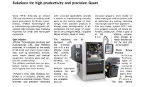 Affolter - Media - presse - precision gear - Swiss Machining