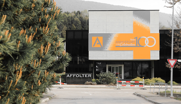 Affolter has the pleasure of celebrating 100 years of industrial and family history
