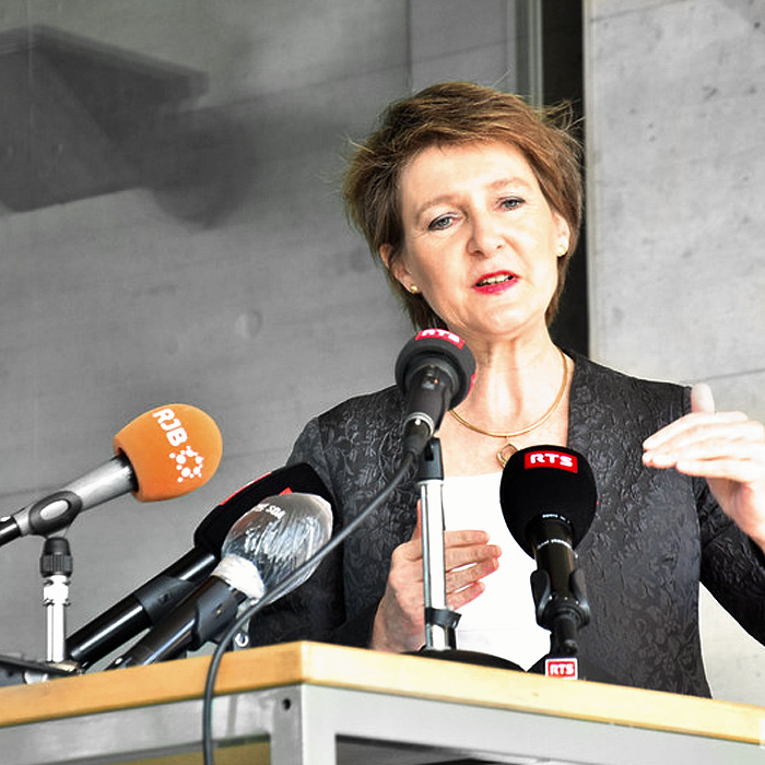 Présidente Simonetta Sommaruga