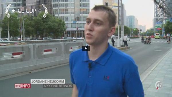 Jordane Neukomm - étudiant sélectionnées pour partir en Chine