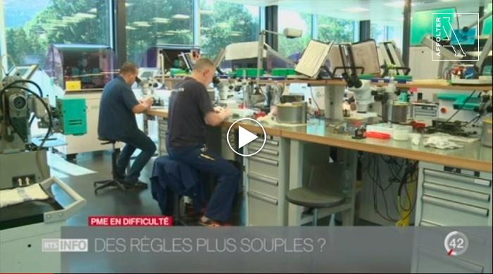 RTS - Le grand format le Jura Bernois règle du chômage partiel