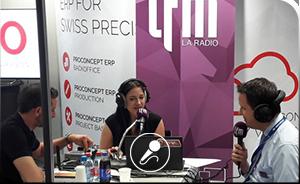Radio LFM métier rouleur - Affolter Pignons