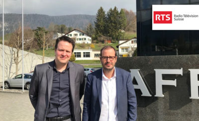 Investir et se moderniser, le défi du secteur microtechnique - Interview RTS 09.04.2019