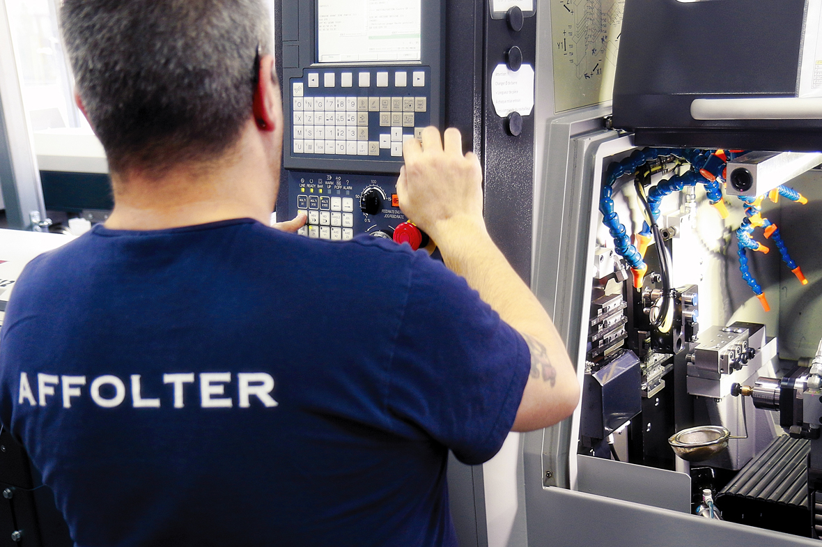 Décolleteur sur décolleteuse conventionnelle et cnc - Métier Affolter