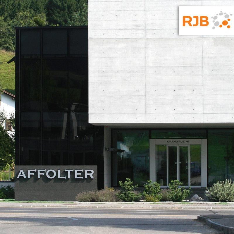 Interview RJB - Sortie de boite - 21.03.2019 - Le Groupe AFFOLTER fête 100 ans