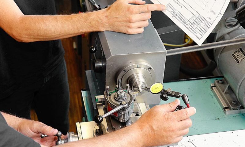 Mécanicien de production CFC option fabrication (spécialisation OUTILLAGES)