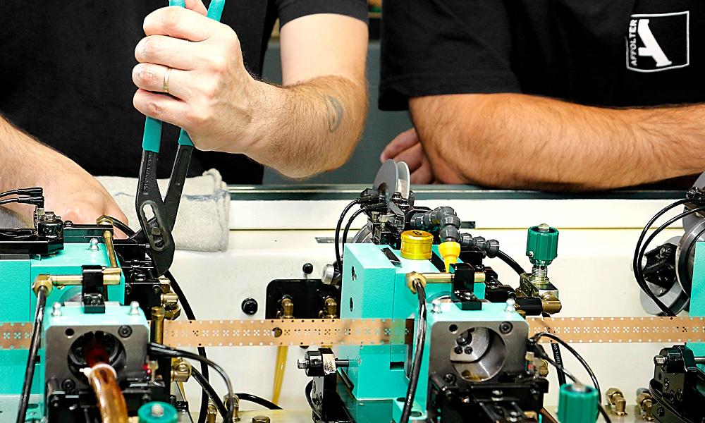 Mécanicien de production CFC option fabrication (spécialisation ROUES)
