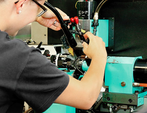 Mécanicien de production CFC option fabrication (spécialisation TAILLAGE)
