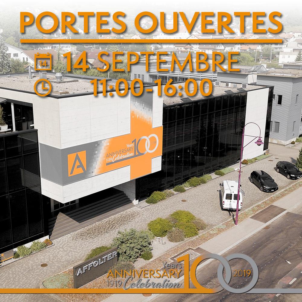 Portes ouvertes, 100e AFFOLTER - 14 septembre 2019