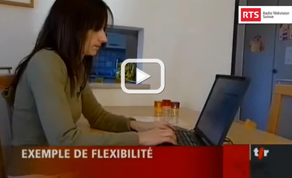 Épanouissement familial des employés de PME - Reportage télévision RTS, 19:30 | 12.02.2007