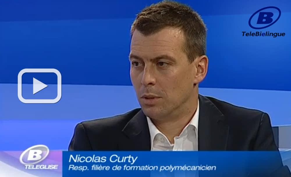 L'apprentissage valorisé - Reportage télévision TeleBielingue | 27.10.2013