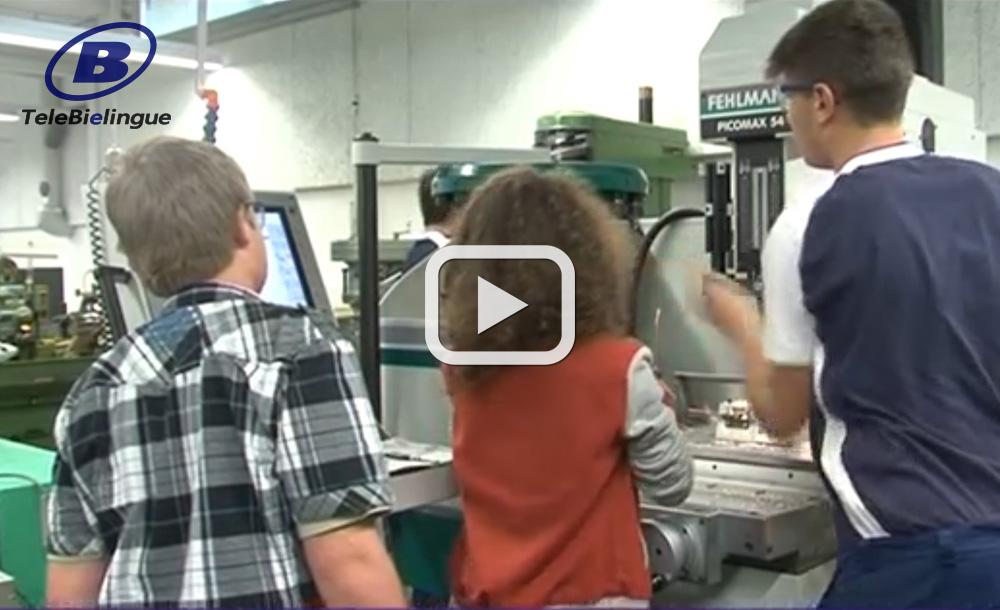 Einblicke in Arbeitswelt: Jugendliche auf Tuchfühlung bei Maschinenbauer Affolter Malleray