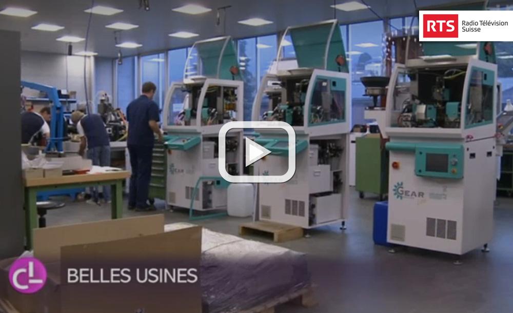 La vallée Tavannes en plein essor économique AFFOLTER entreprise industrielle