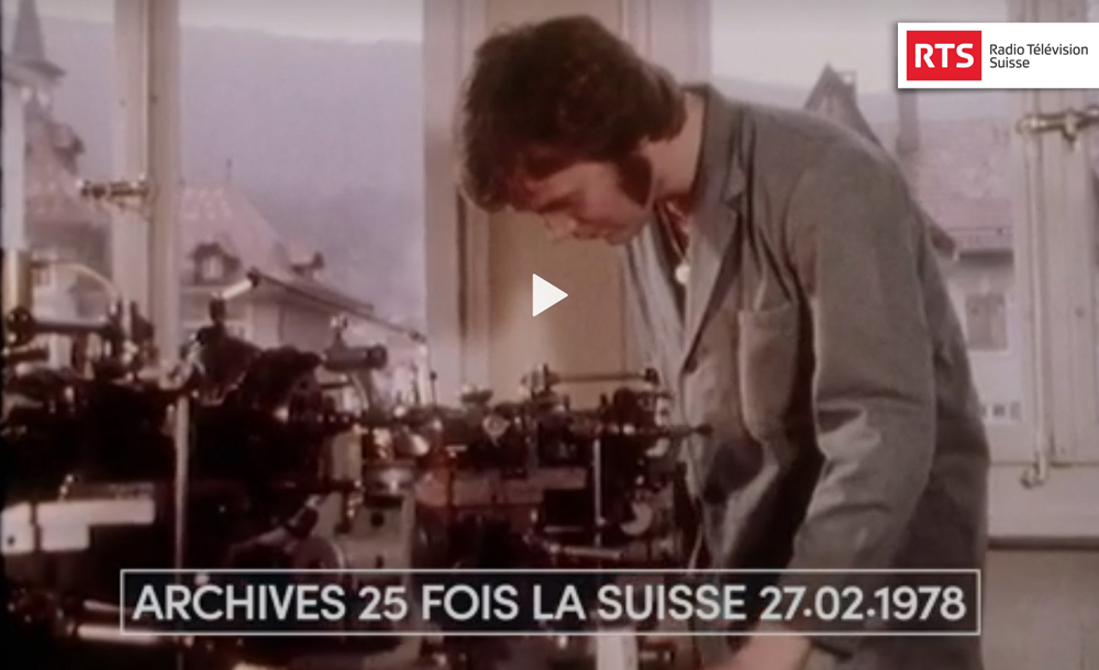 épopée industrielle du Jura bernois - Reportage RTS | 09.03.2020