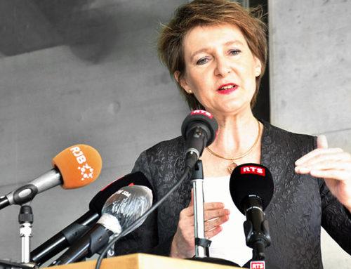 Interview Radio«Mme Simonetta Sommaruga» 06.04.2020