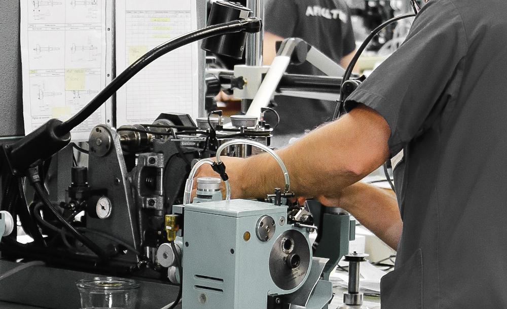 metier roulage metteur en train equipements affolter rouages