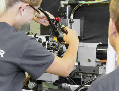 Mécanicien de production CFCoption fabrication (spécialisation TAILLAGE)
