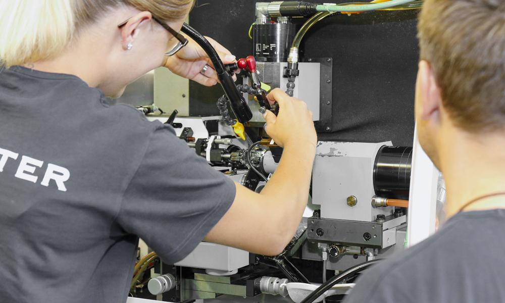 apprentissage mecanicien production fabrication taillage