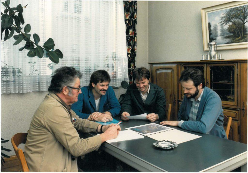 La direction de l'entreprise et le capital-actions passent dans les mains des trois fils de Marc Affolter, Marc-Alain, Jean-Claude et Michel Affolter représentant la troisième génération.